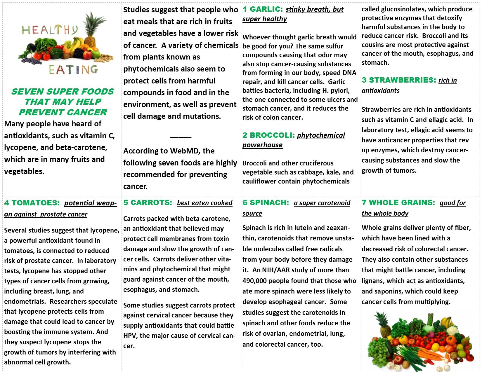 Diet & Cancer 2
